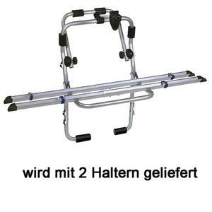 Heckträger Fahrradträger Steelbike mit Schienen 2 Räder