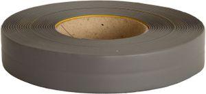Knickwinkelleiste, PVC, 25m, grau, selbstklebend, Sockelleiste