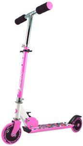 Best Sporting Scooter 125er pink/weiß, verstellbar 70-80 cm; Klappsystem