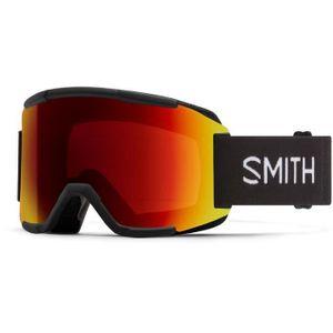 SMITH Squad Skibrille - Herren - Schwarz Chroma Pop Sun Red S3