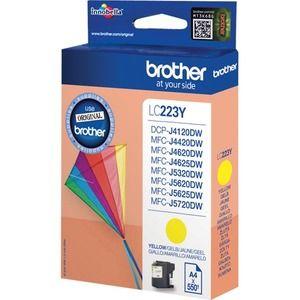 Brother LC-223Y Tintenpatrone - Gelb - Tintenstrahl - 550 Seiten