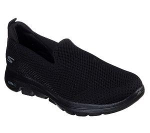 Skechers Damen Slipper GO WALK 5 PRIZED Schwarz, Schuhgröße:EUR 40