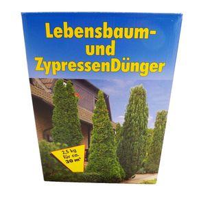 Lebensbaum- und Zypressendünger 2,5 kg