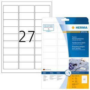 HERMA Namens-Etiketten SPECIAL 63,5 x 29,6 mm weiß 540 Etiketten