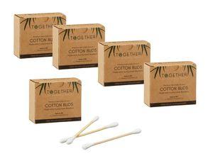 1000 Stück Bambus Wattestäbchen Nachhaltig Biologisch abbaubar