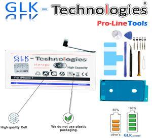 GLK-TECHNOLOGIE Akku für Apple iPhone 7 7G A1778 A1660 Batterie Pro