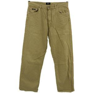 #5489 Hugo Boss, Arkansas ,  Herren Jeans Hose, Denim ohne  Stretch, caramel, W 36 L 30
