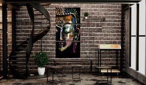 Wandbild - Peaceful Buddha, Größe:30 x 60 cm