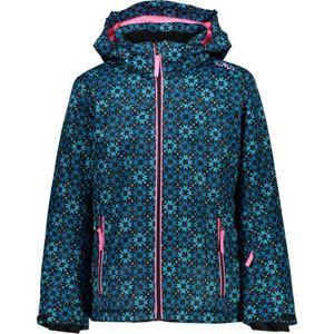 Campagnolo Girl Jacket Snaps Hood - danubio-antracite-turchese, Größe:152