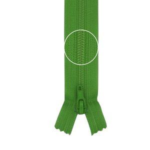 YKK Reißverschluss Kunststoffspirale nicht teilbar 3mm 16cm 536 gelbgrün