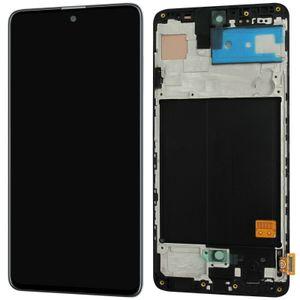 Samsung Galaxy A51 A515F | Komplettes LCD Display | Reparatur Set | Ersatzteil | Bildschirm Einheit mit Rahmen