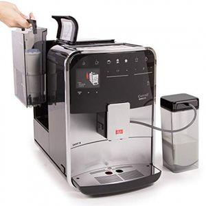 Melitta Caffeo Barista T Smart F831-101 Kaffeevollautomat, Smartphone-Steuerung, Silber