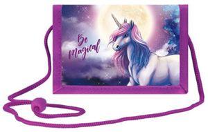 Einhorn Brustbeutel Geldbörse Geldbeutel Kinder Portemonnaie Pony Pferd