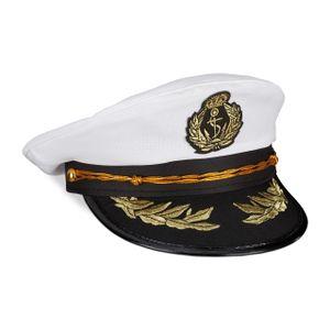 relaxdays Kapitänsmütze