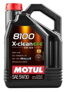 5 Liter MOTUL 5W-30 X-CLEAN EFE BMW Longlife-04 DEXOS 2 MB 229.52 VW 505 01