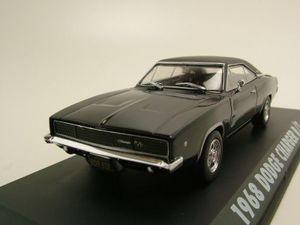 "Dodge Charger R/T 1968 ""Bullitt"" schwarz Modellauto 1:43 Greenlight Collectibles"