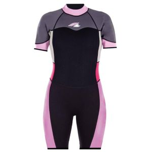 F2 Shorty Damen -Neoprenanzug Gr. M Wasseranzug Surfanzug SUP Neu