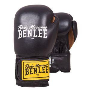 BENLEE Rocky Marciano Boxhandschuhe Unisex – Erwachsene Schwarz, Größe:10 oz