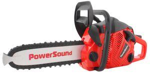 Spielzeug Kettensäge Power Motorsäge Batteriebetrieben Bewegung Geräusche Gummi 4484