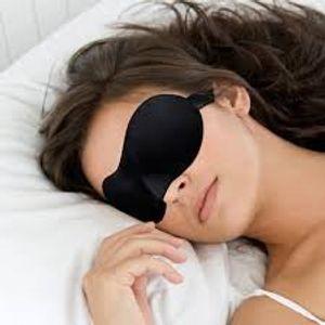 Die ganze Saison bequemen atmungsaktiven Auge Schlafmaske / Auge Maske / Schlaf-Maske für Flugreisen oder friedliche Nachtruhe (Sleep Mask)