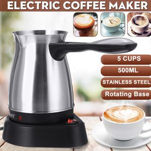 Sokany Elektri Moccakanne Espressokocher Kaffeekocher Kaffeekanne Türkische Edelstahl