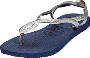 havaianas Luna Sandals Women navy blue/silver  Schuhgröße EU 39/40 | Brazilian 37/38