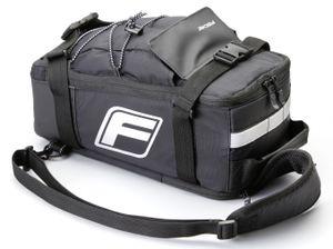 Fische Gepäckträgertasche 2in1 inklusive verstellbarem Schultergurt