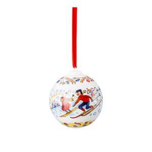 Hutschenreuther Porzellankugel Weihnachtskugel 2018 Porzellankugel 02252-722984-27940