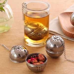 ZQYRLAR 2 Stücke Edelstahlgewebe Tee Ball 1,5 '' Tee-ei Ball Sieb Tee Filter Sieb Tee Intervall Diffusor für Lose tee steiler, duftenden tee, kaffee