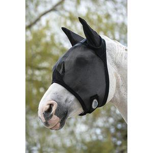 WEATHERBEETA Fliegen Maske, schwarz,UV-Schutz >70 % VB/Cob