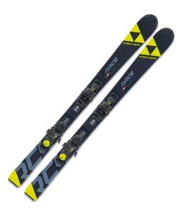 Ski Jugendski Fischer RC4 Race JR SLR Modell 2020 + Bindung FJ7 AC SLR, Länge:140cm