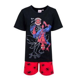 Marvel Spiderman Kinder Schlafanzug Pyjama kurz Nachtwäsche Gr. 110