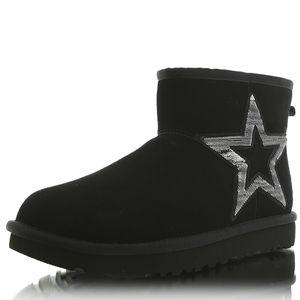 UGG Schuhe Classic Mini Star, 1108909BLK, Größe: 39