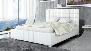 Polsterbett Bett Doppelbett MATTEO 140x200cm inkl.Bettkasten