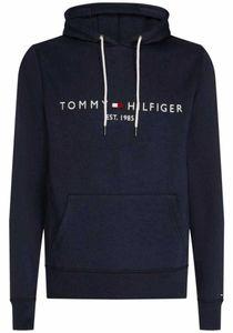 Tommy Hilfiger Herren Kern-Logo-Hoodie, Blau XL