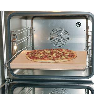 Brotbackstein Pizzastein für den Backofen Ofen 10021639 400x300x30mm Schamottstein Brot Pizza Flammkuchen lebensmittelecht universell einsetzbar