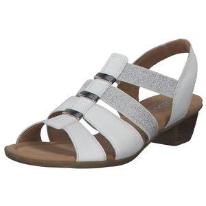 Gabor Comfort Sandaletten weiss Größe 4.5, Farbe: weiss