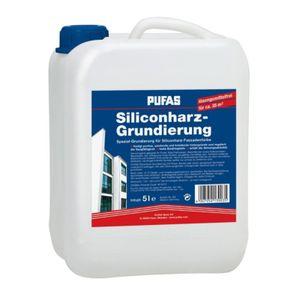 Siliconharz Grundierung - 5 Liter - PUFAS - für Siliconharz Fassadenfarbe