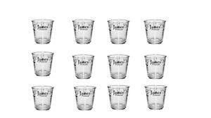 12 Espressogläser