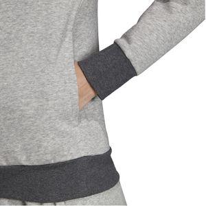adidas Kapuzenpullover Hoodie Pullover Damen, Farbe:Weinrot, Damen Größen:M