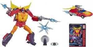 Transformers spielzeug Hot Rod junior 25 cm rotorangegelb