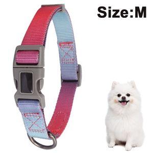 Verstellbares Hundehalsband,Weich & Komfort Hunde Halsband für Kleine, Mittlere und Große Hunde,M