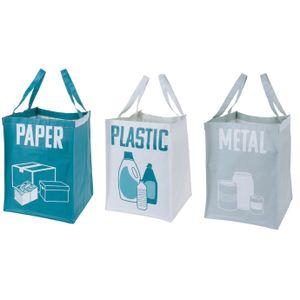 Set mit 3 Abfalltrennungsbeuteln - Storagesolutions