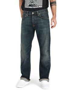 Nudie Regular Bootcut Jeans - Regular Alf De Luxe, Größe:W32, Schrittlänge:L30