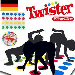 Miixia Spaß Twister pädagogisches Spielzeug Game Pad für Kinder Erwachsene Bewegt