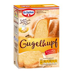 Dr. Oetker Gugelhupf Rührkuchen Backmischung einfach und lecker 460g