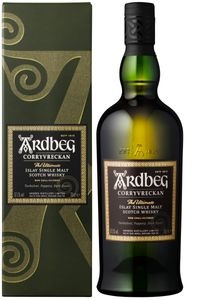Ardbeg Corryvreckan The Ultimate Islay Single Malt Scotch Whisky in Geschenkpackung | 57,1 % vol | 0,7 l