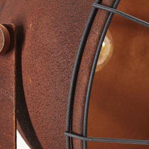 BRILLIANT JESPER Stehleuchte 166,5 cm Metall Rostfarbend