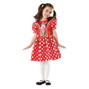 Red Minnie Mouse Classic Kostüm, versch. Größen