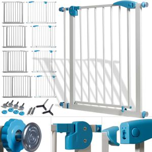 Kidiz® Türschutzgitter ✓ Absperrgitter ✓ Treppengitter ✓ Kindergitter | Gitter Haustier | , Variante :102 - 115 cm GRAU